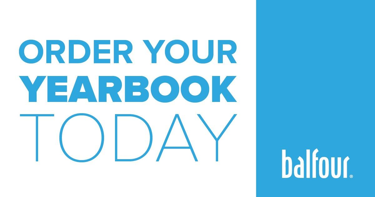 Don't forget to order your YEARBOOK!