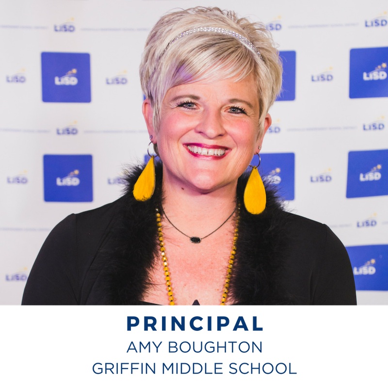 2019 PRINCIPAL AMY BOUGHTON GRIFFIN MIDDLE SCHOOL