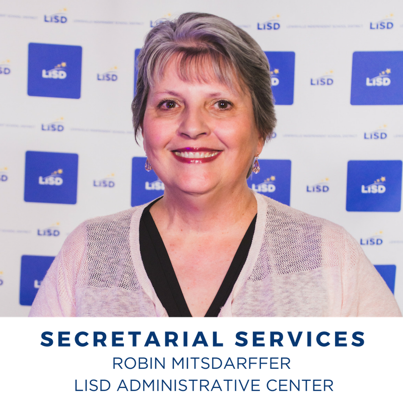 2019 SECRETARIAL SERVICES ROBIN MITSDARFFER LISD ADMINISTRATIVE CENTER