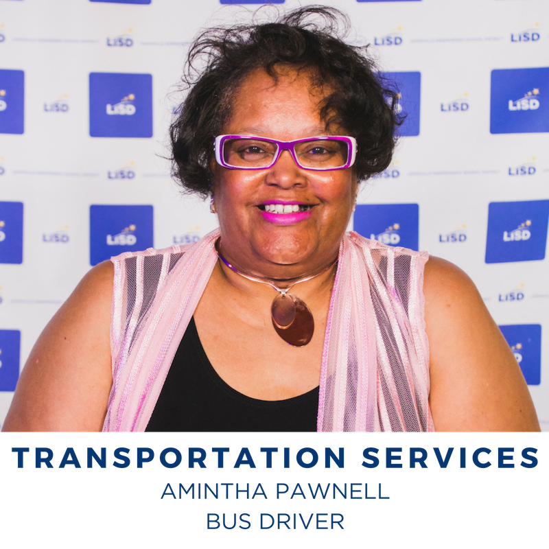 2019 TRANSPORTATION SERVICES AMINTHA PAWNELL BUS DRIVER