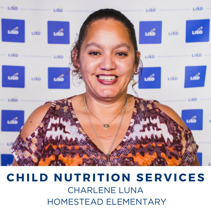 2019 CHILD NUTRITION SERVICES CHARLENE LUNA HOMESTEAD ELEMENTARY