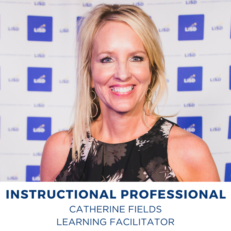 2019 INSTRUCTIONAL TECHNICAL PROFESSIONAL CATHERINE FIELDS LEARNING FACILITATOR