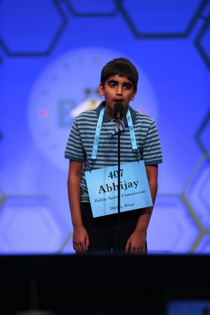 Abhijay Kodali Named National Spelling Bee Co-Champion