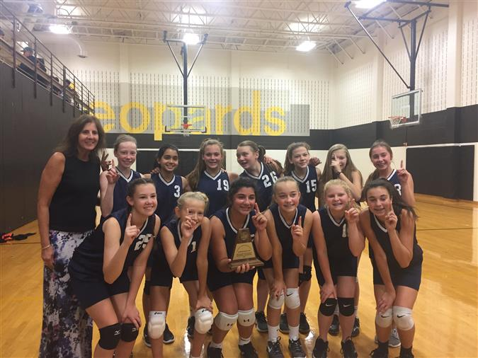 7th & 8th Volleyball Win Division II Tournaments