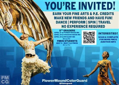 FMHS Color Guard Promo
