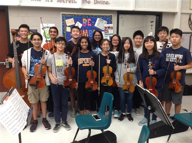 All-Region Orchestra Audition Results