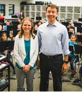 Dynamic Duo of SRMS Band Program