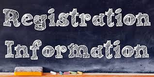 Registration Information-Current 5th, 6th, 7th, and 8th graders