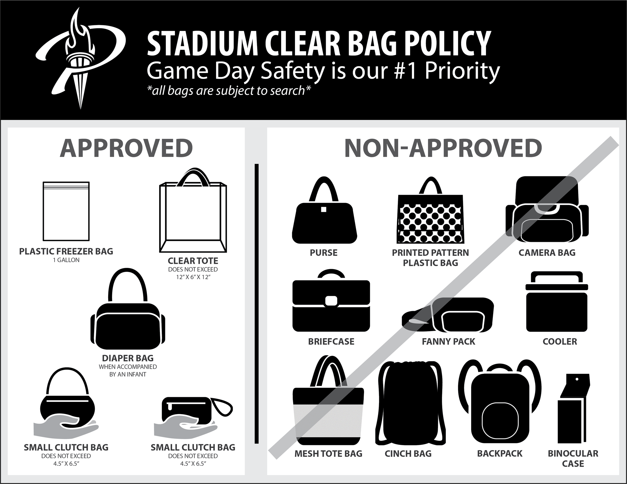 bag policy