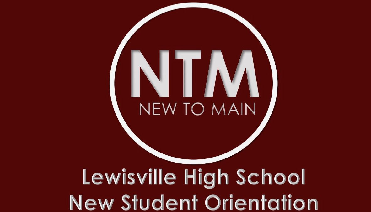NEW TO MAIN - New Student Orientation.  Wednesday, August 7, 2019 at 6:30pm