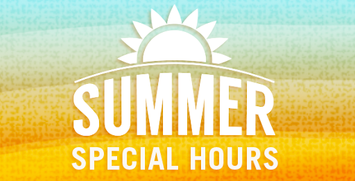 SUMMER OFFICE HOURS AND REGISTRAR HOURS