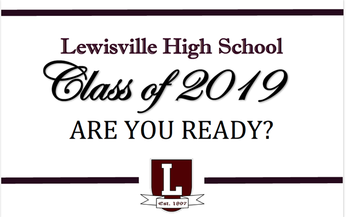 CLASS OF 2019 INFORMATION - FOR CURRENT JUNIORS