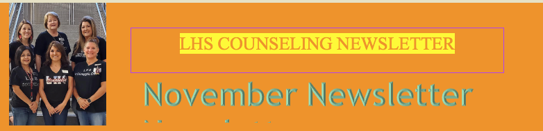 COUNSELING MONTHLY NEWSLETTER