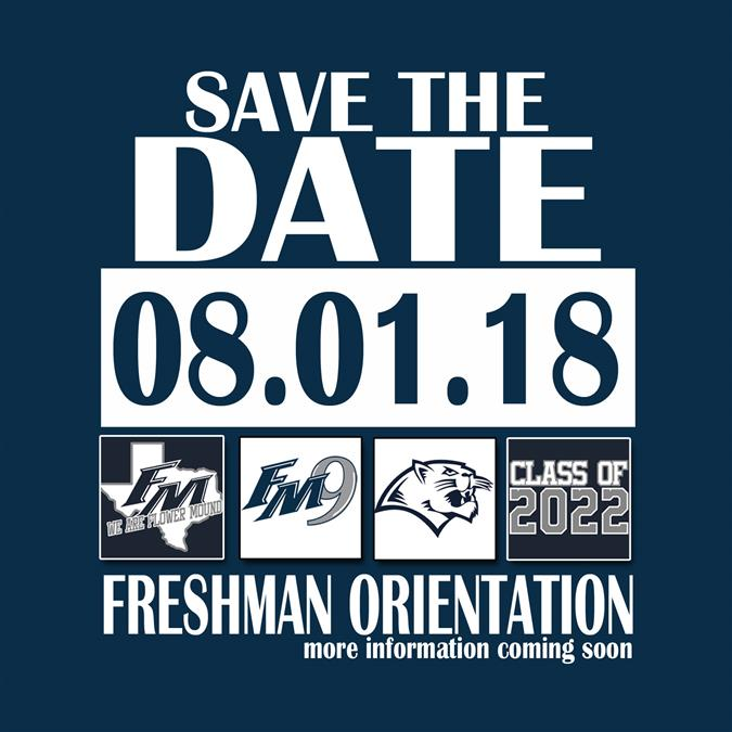 Save the Date - FM9 Orientation