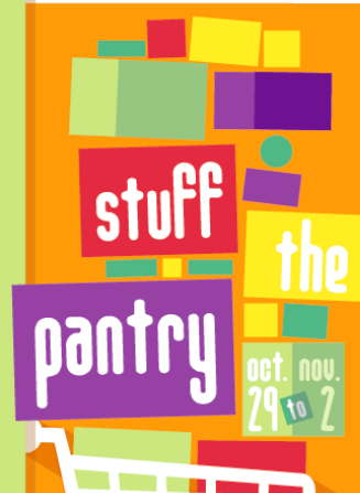 Stuff the Pantry 2018 is happening October 29 to November 2.