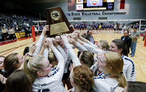 Lady Jags Volleyball take State!