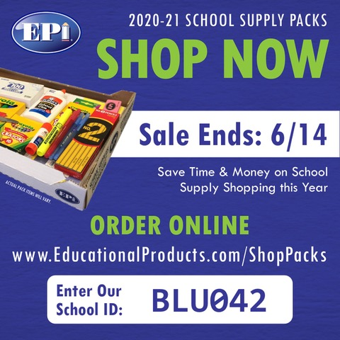 School Supplies: Wrap Packs