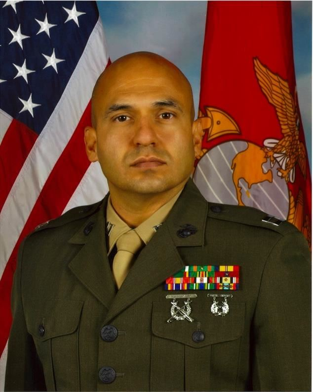 Captain Mark J. Ortiz, USMC, Retired