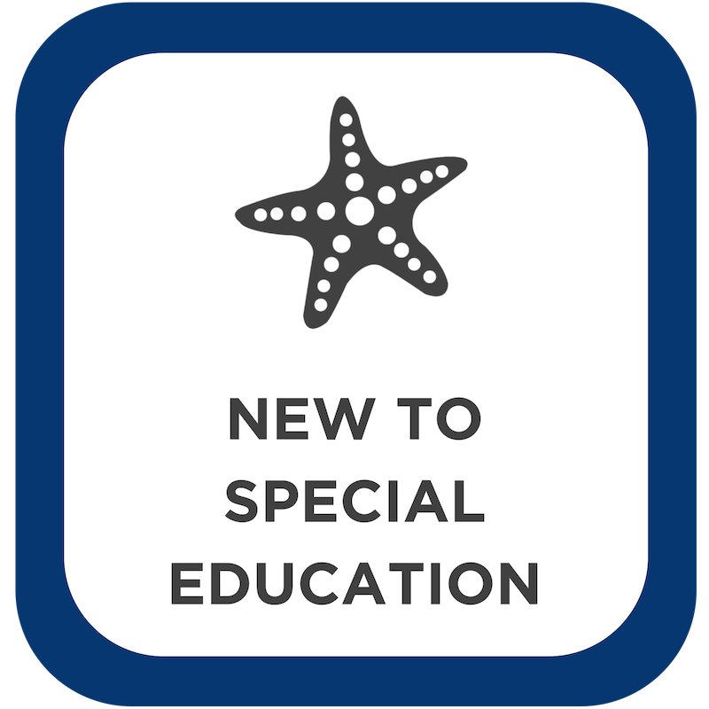 New to Special Education