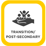Transition/Post-Secondary Button