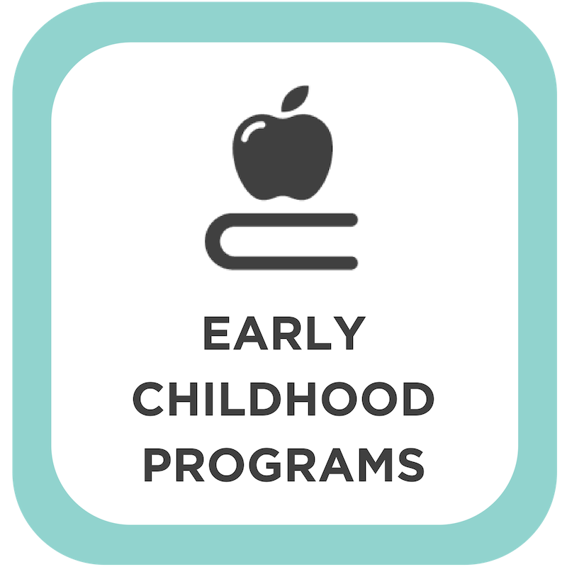 Early Childhood Programs Button