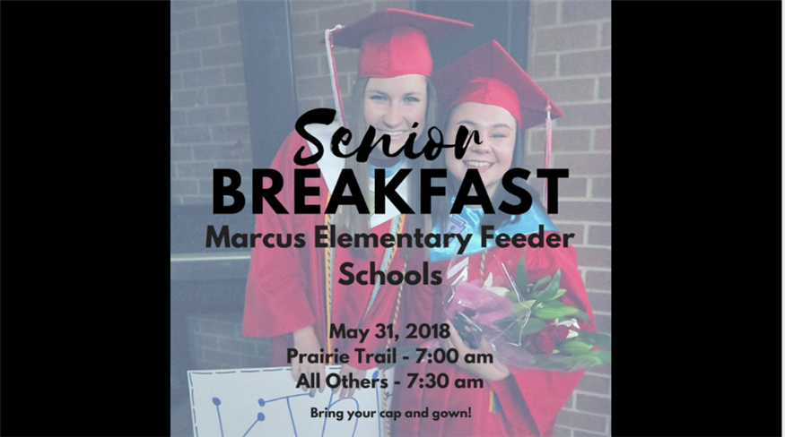 May 31: Senior Breakfast ...