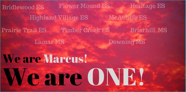 Marcus High School / Home of the Marauders