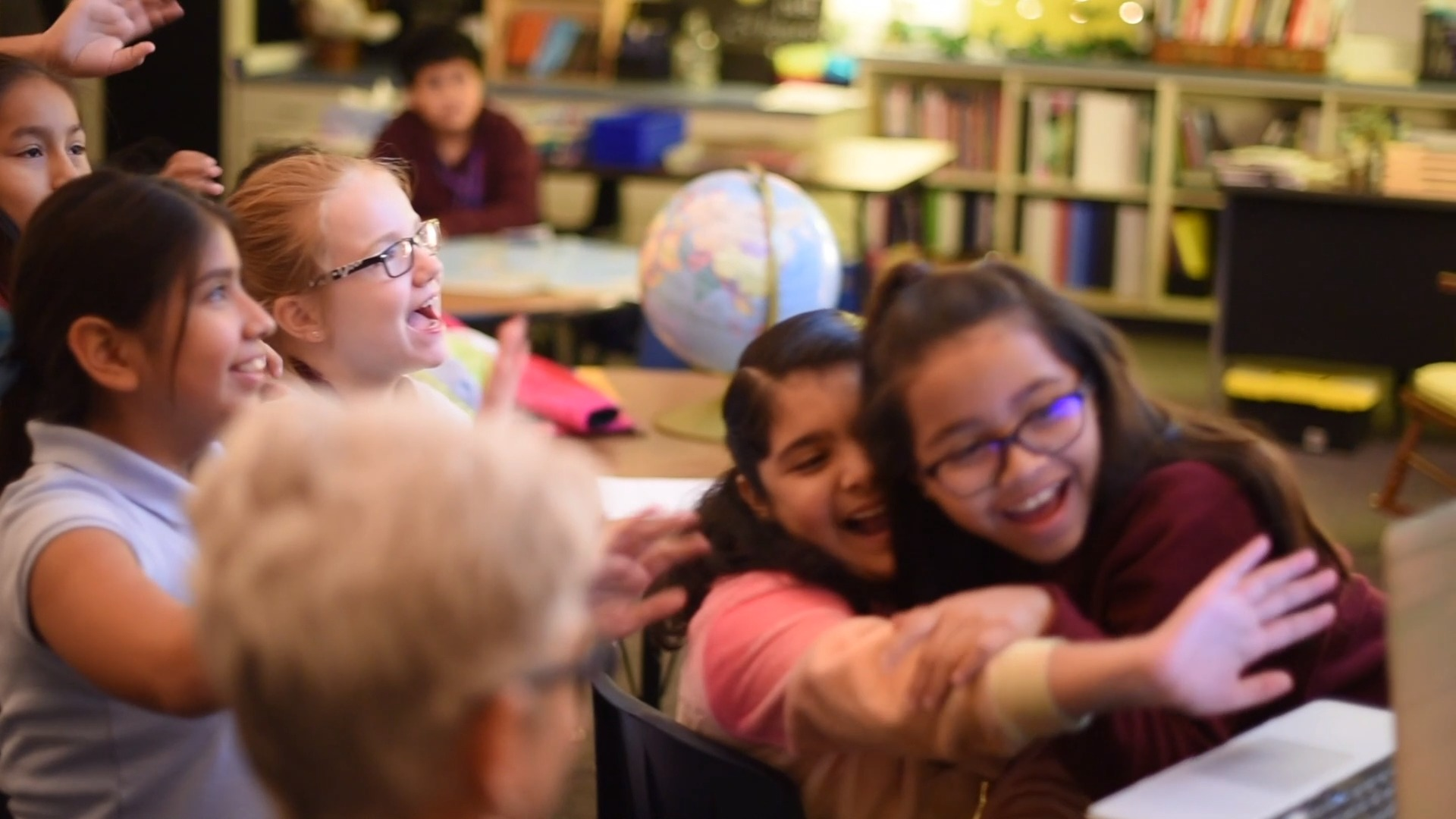 A Worldwide Encounter at Central Elementary
